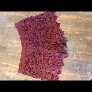 Aggie maroon shorts